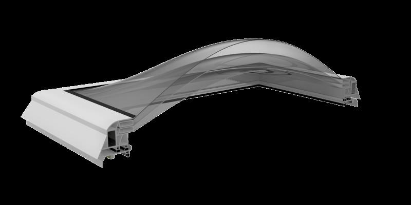Kupoliniai stoglangiai SOLIDOME SOLIDM 3 Skin